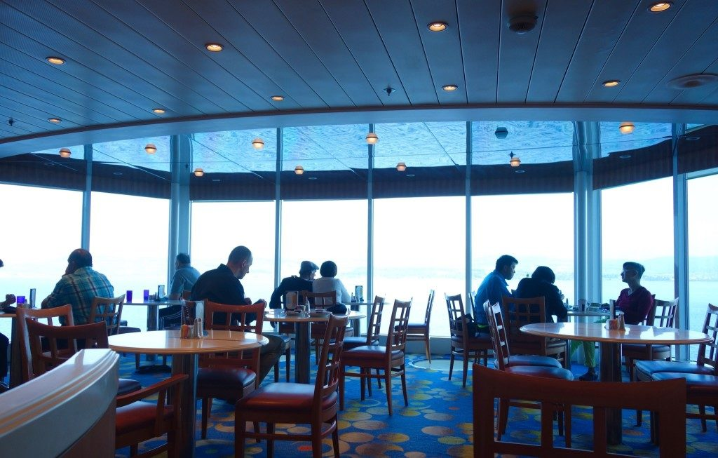 Celebrity Constellation's Ocean View Cafe