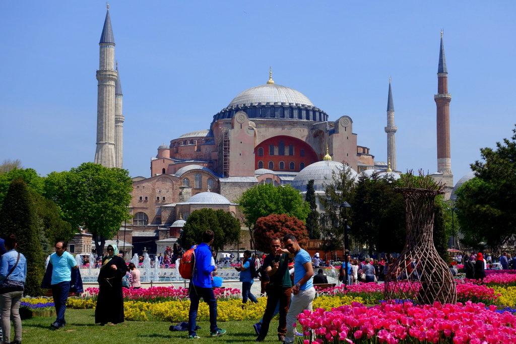 Hagia Sophia, exterior. Istanbul