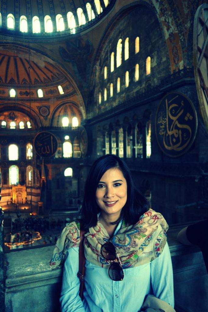 2nd level of Hagia Sophia