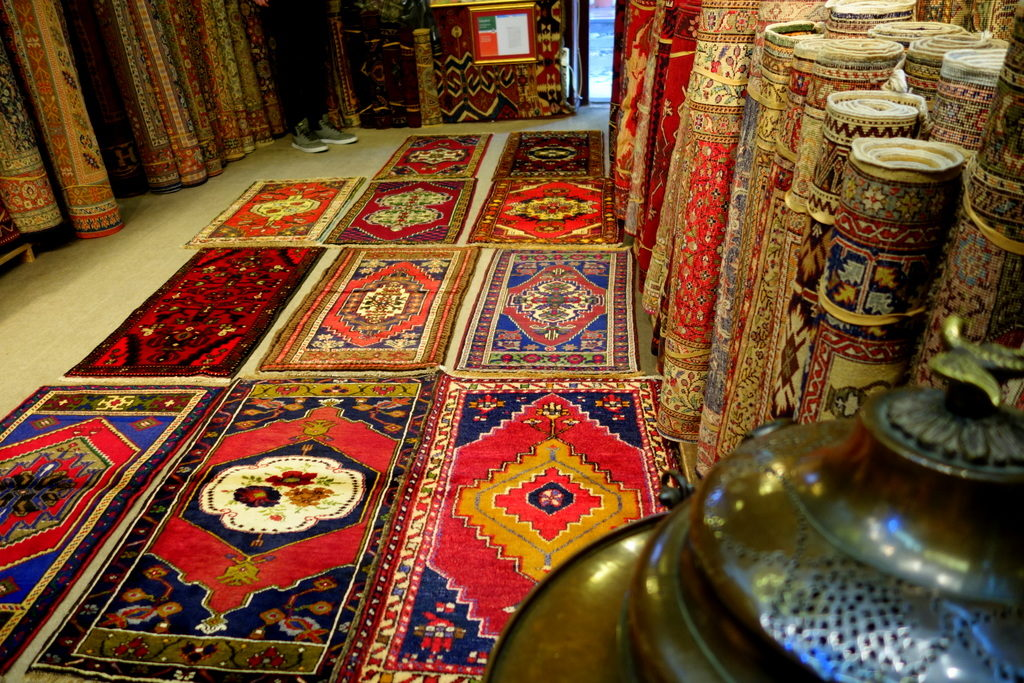 choose your own rug. Grand Bazaar, Istanbul
