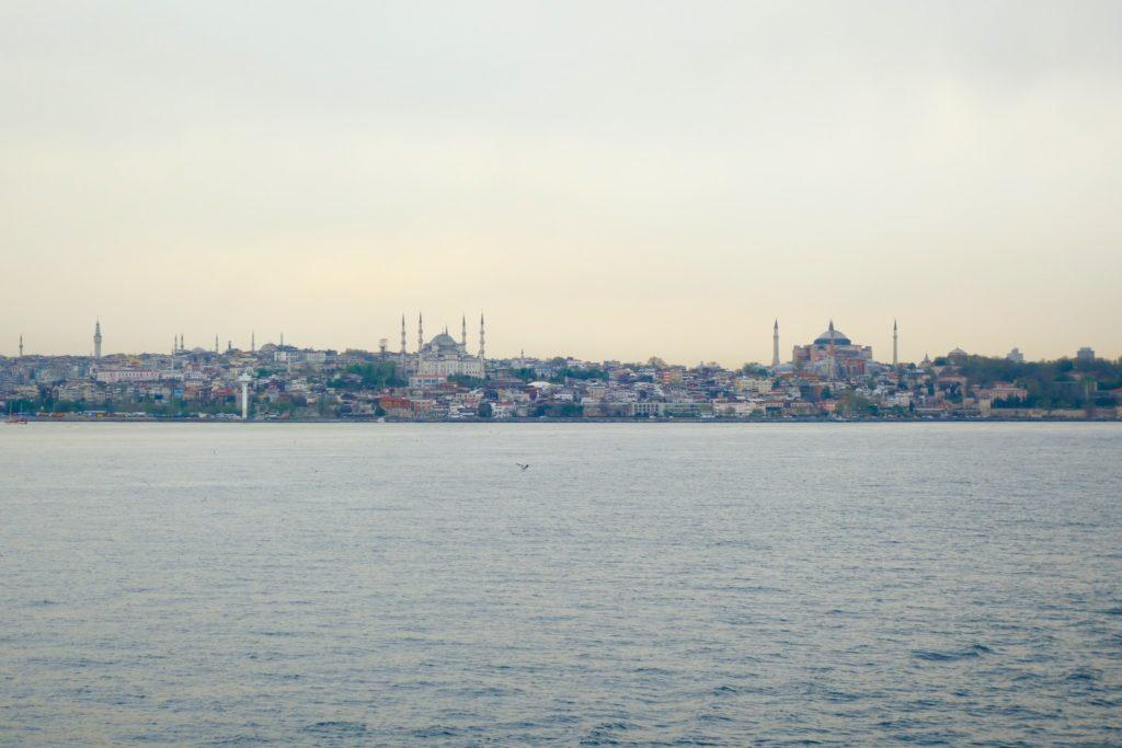 leaving Isanbul
