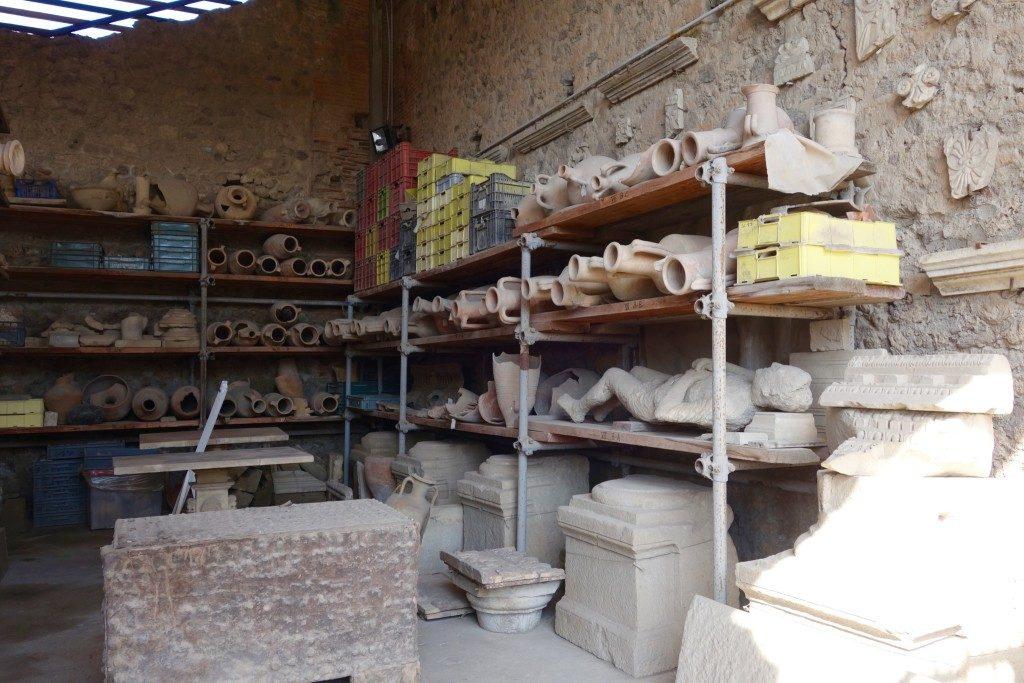 Mummified Body in Pompeii