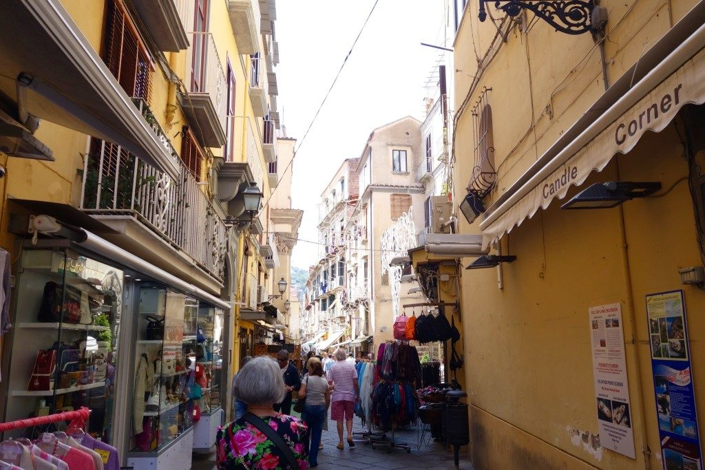The Shops of Sorrento in Naples