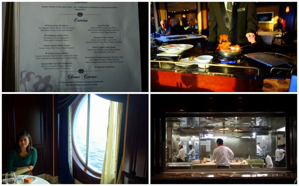 Dinner at Ocean Liners Restaurant, Celebrity Constellation