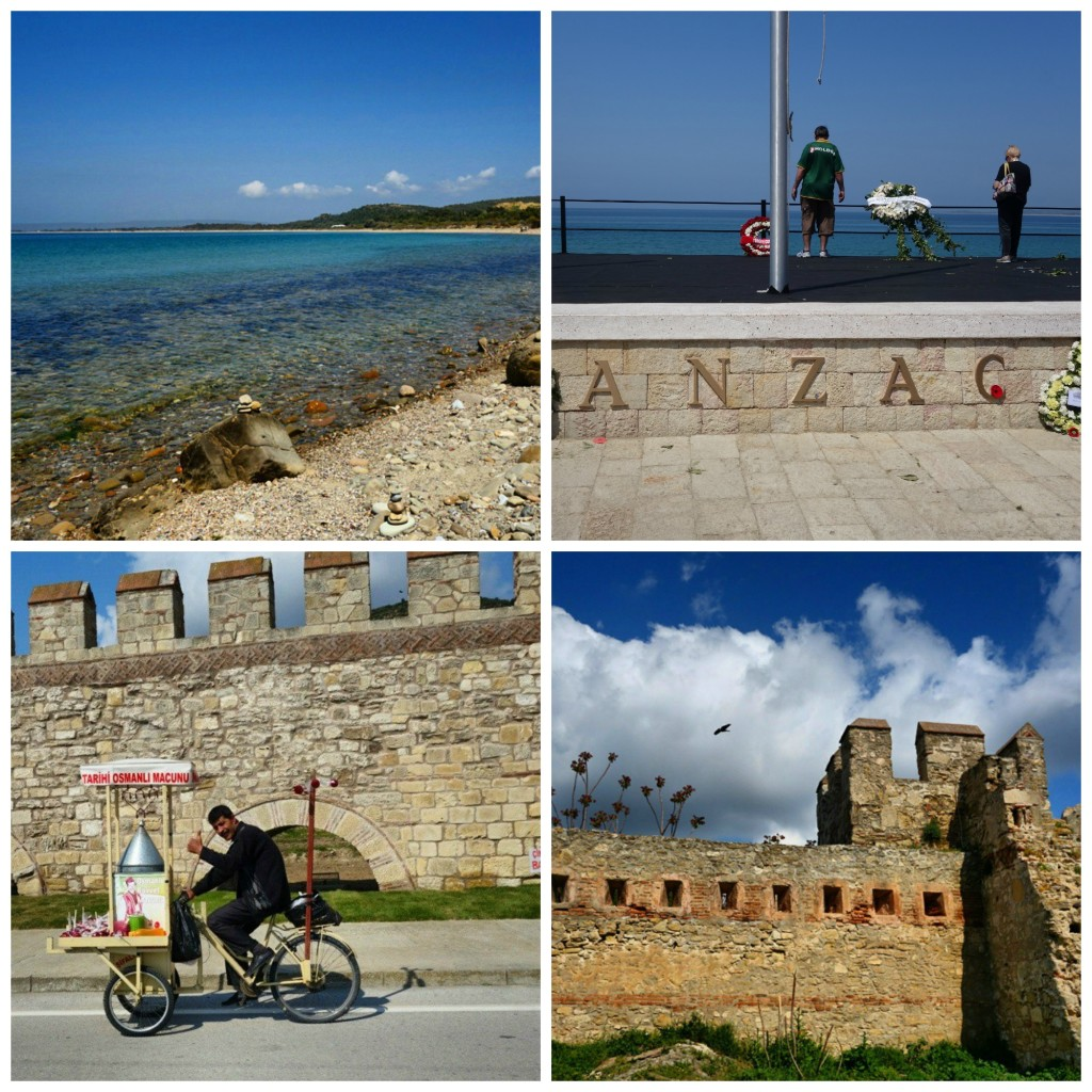 Excursions in Canakkale and ANZAC Cove