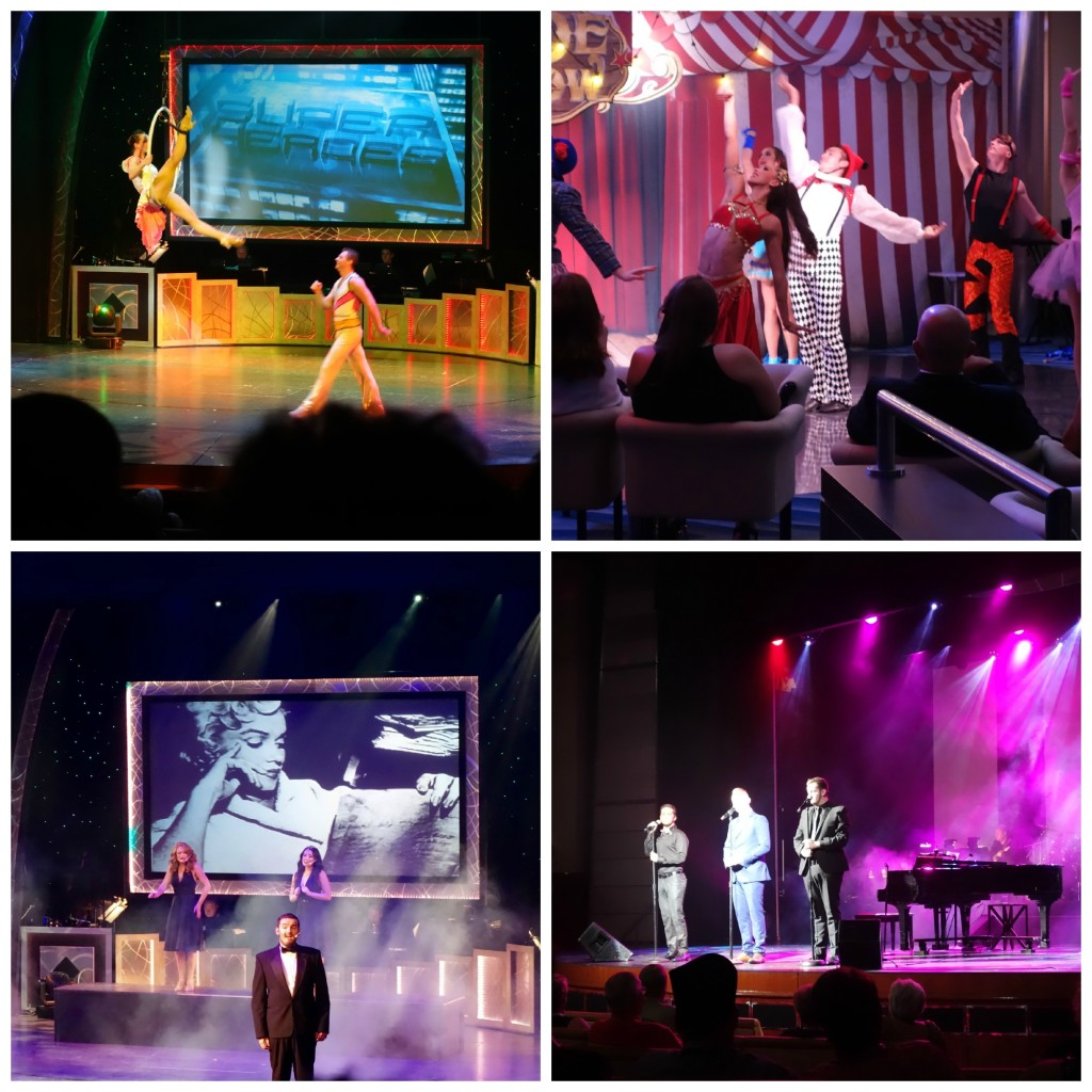 Entertainment onboard Celebrity Constellation