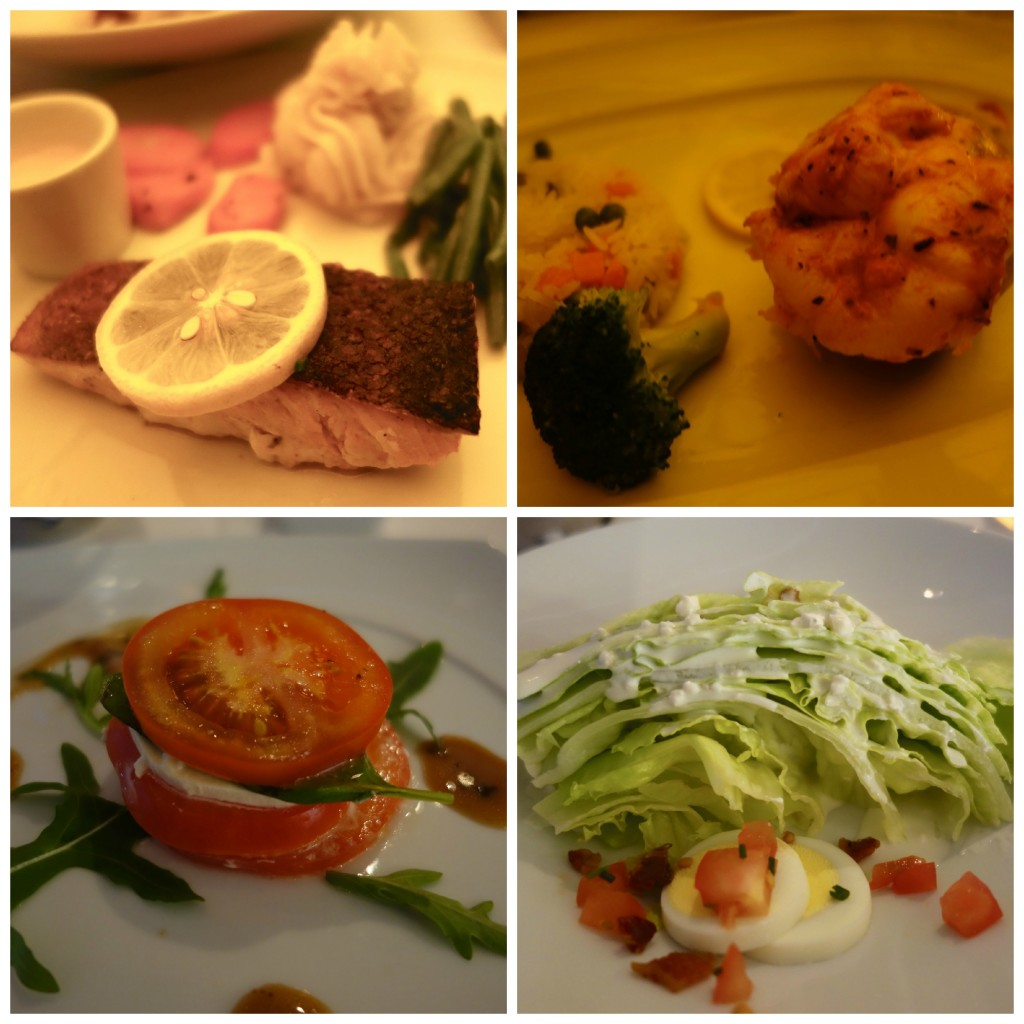 Dinners at San Marco Restaurant, Celebrity Constellation