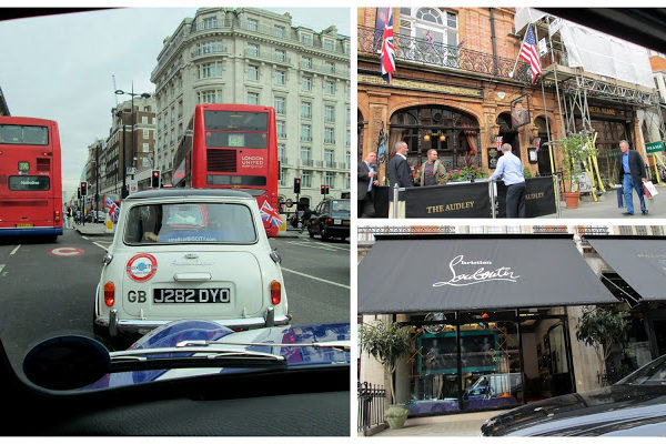 Top 3 Ways to See London: Number 1 on my list– From a Mini Cooper!