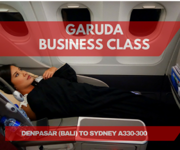 Flight Review: Garuda Indonesia Denpasar to Sydney, Business Class on A330-300