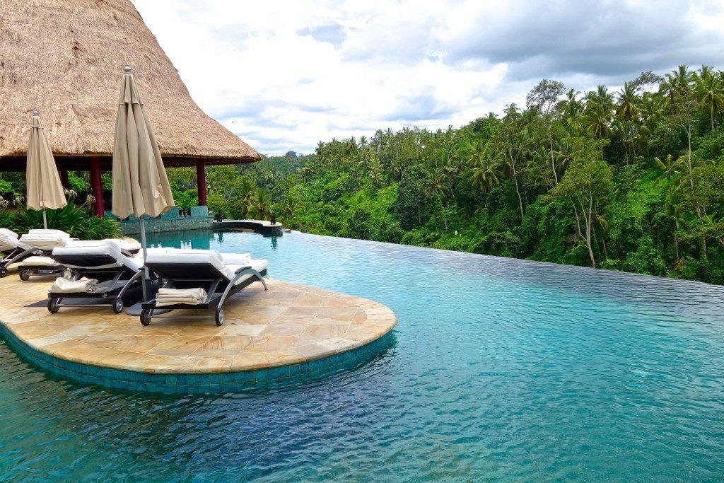 The pool at Viceroy Bali