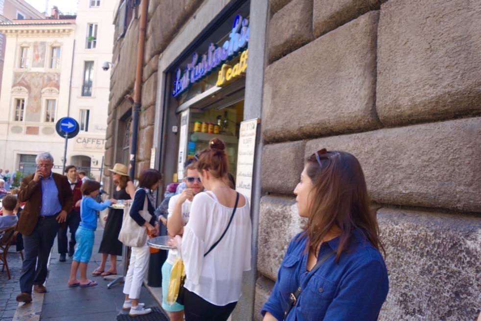 Cafe Sant Eustachio in Rome