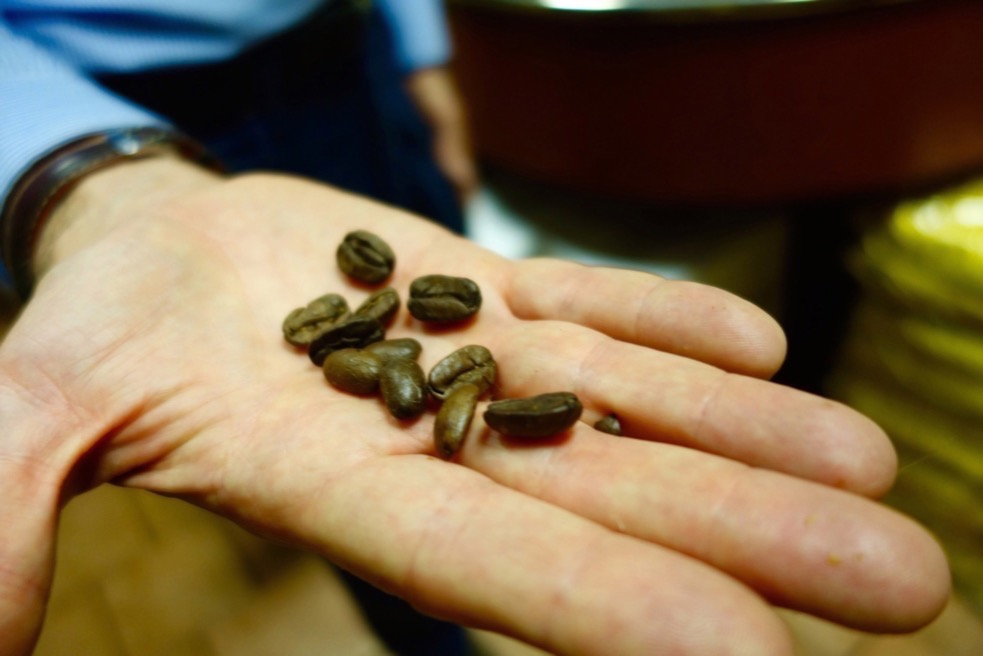 Coffee beans at Caffe Sant Eustachio