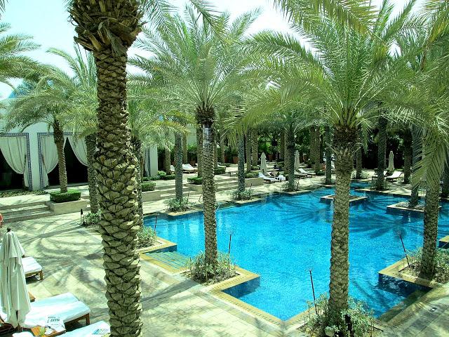 Pool at Park Hyatt Dubai