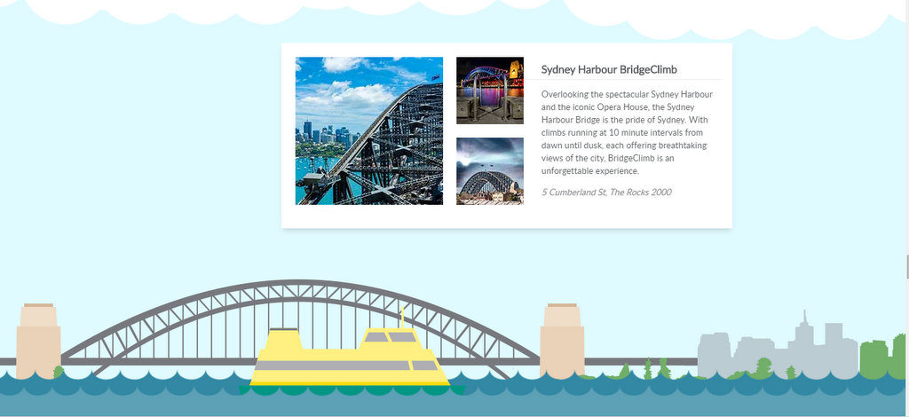 Doing the Harbour Bridge Climb in Sydney is a must if you are adventurous