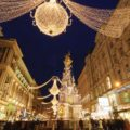 Graben in Vienna at christmas time. Photo from Albatross Tours
