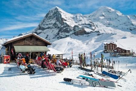 Kleine Scheidegg and the Noth face of the Eiger. Photo from Albatross Tours
