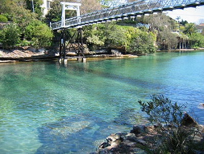 Parsley Bay in Vaucluse . Photo from Woollahra.nsw.gov.au
