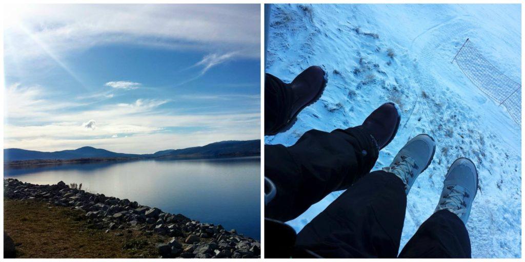Lake Jindabyne and Meritts Scenic Charilift