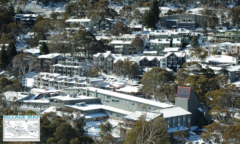 Thredbo Village, photo from Thredbo.com.au