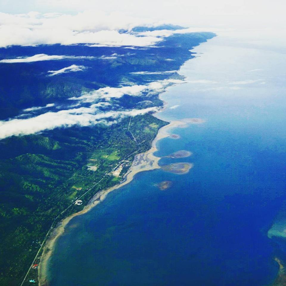 approaching Puerto Princesa