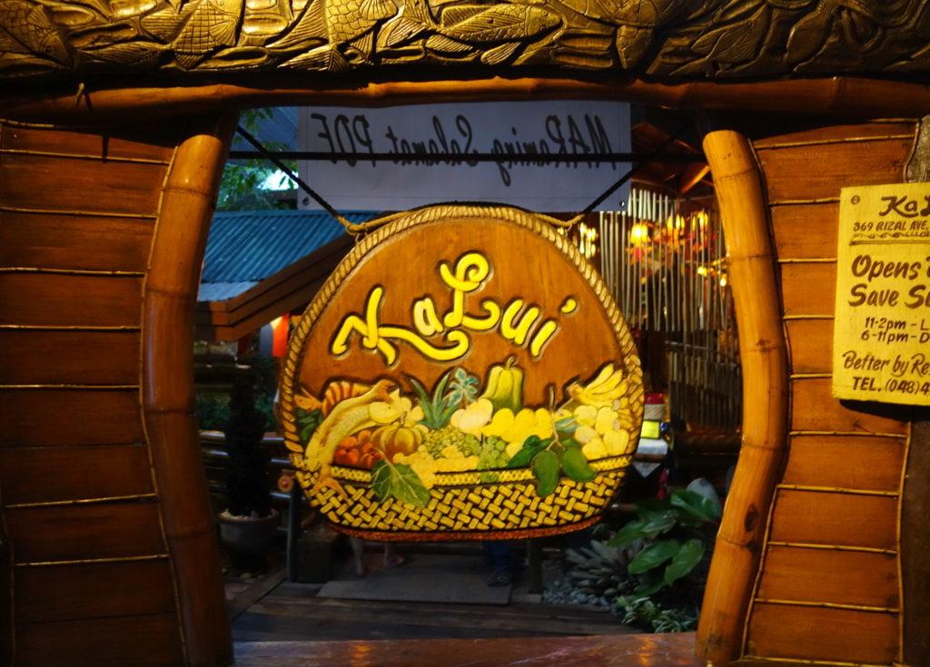 Kalui Restaurant, Puerto Princesa