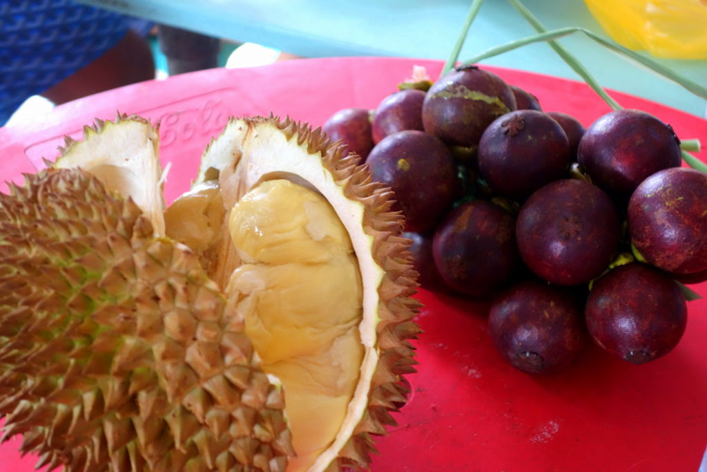 Durian and Mangosteen: Davao's best fruits