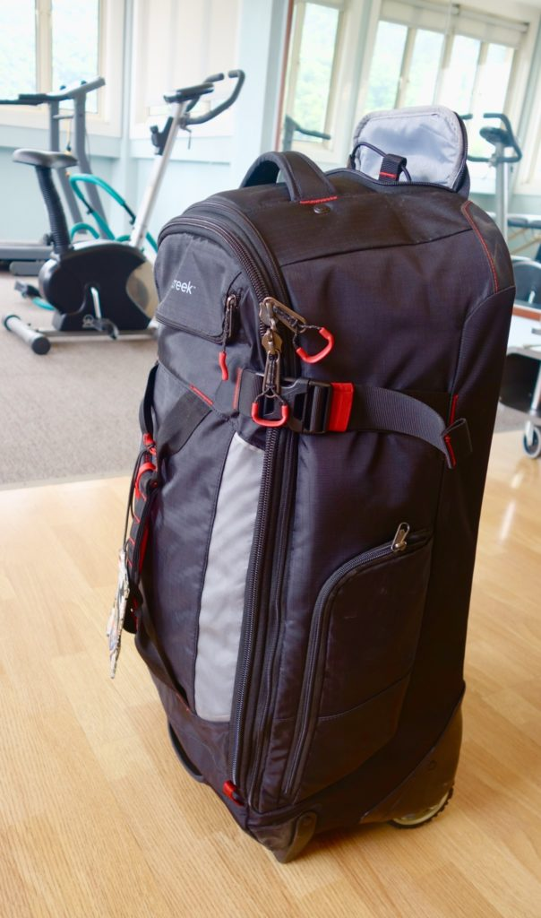 How to Pack with Packing Cubes: Use the Load Warrior's Compression strap