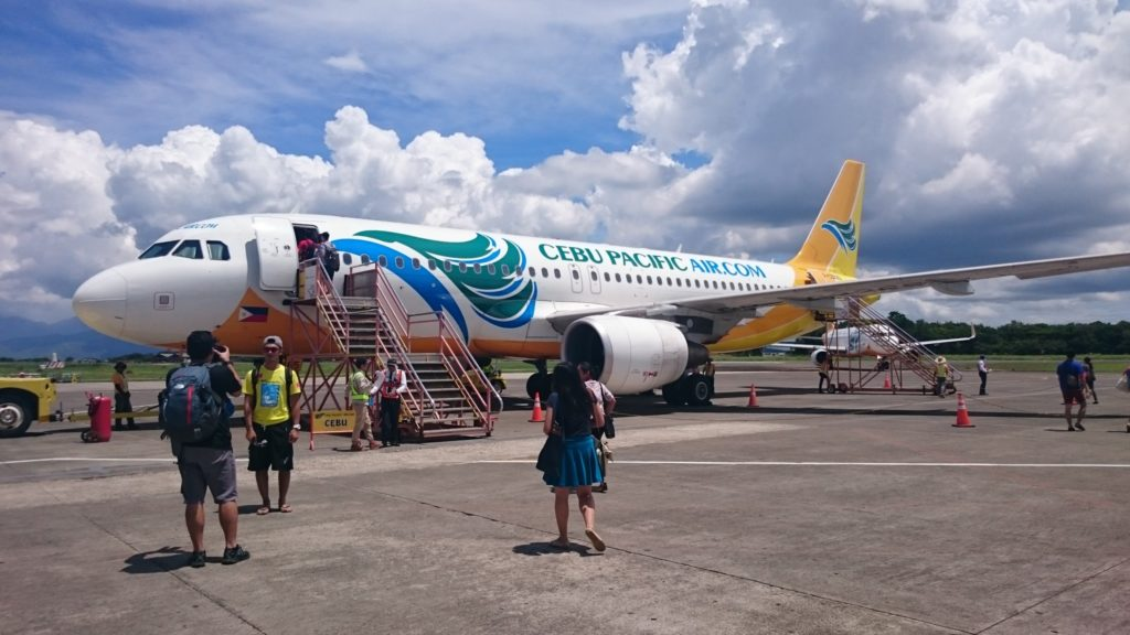 Cebu Pacific flies to Puerto Princesa twice daily from Manila