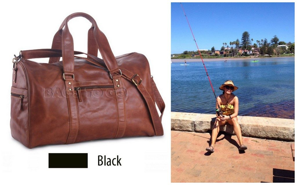 The Oran Josh Leather overnight bag - perfect for impromptu trips