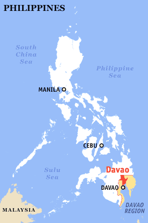 Where is Davao?
