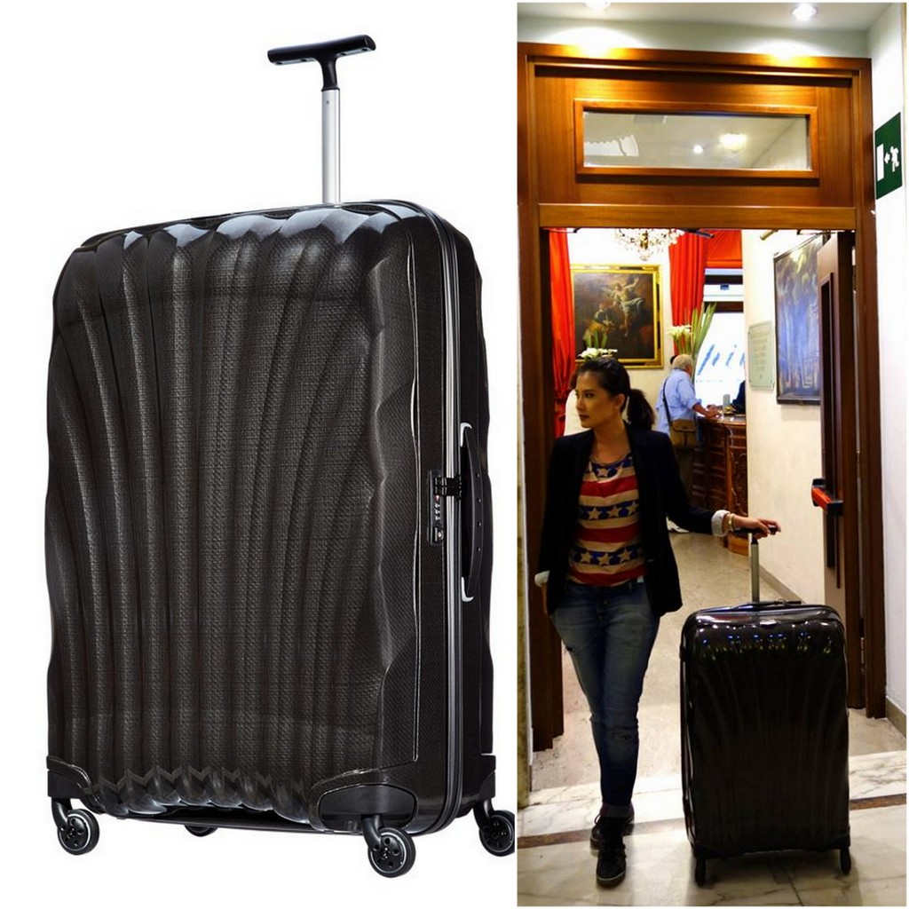 The Samsonite Cosmolite 81cm, perfect for long travels