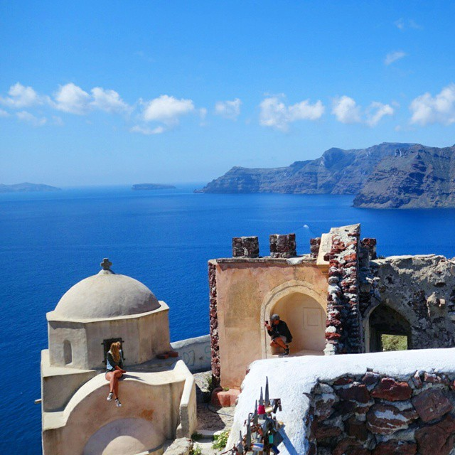 Santorini is a magical place.