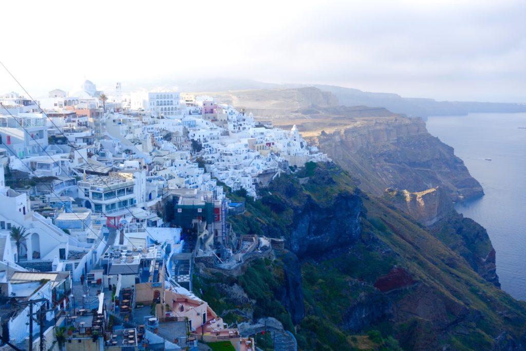 Santorini at 8 AM