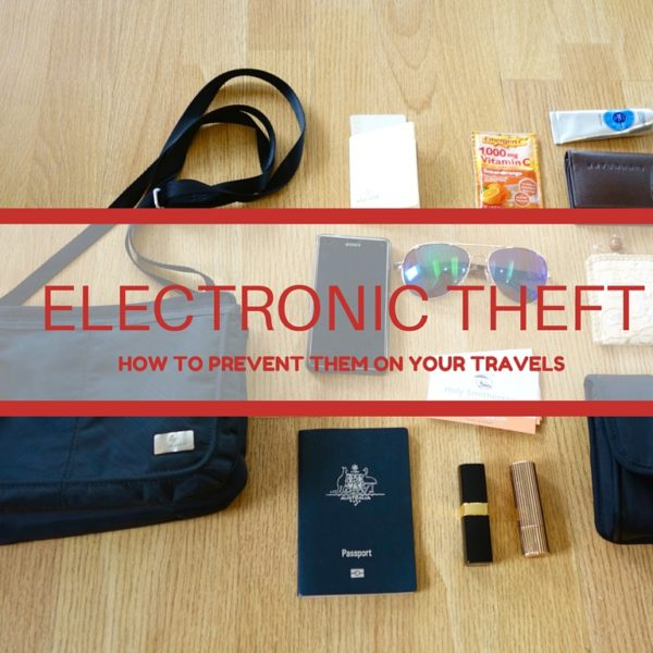 Preventing Electronic Theft While Travelling