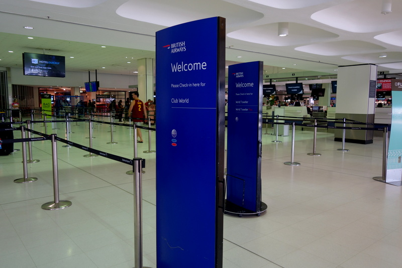 British Airways Check-In at Sydney Airport