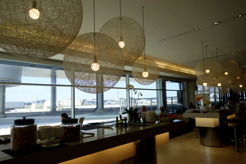 British Airways uses the Qantas Lounge in Sydney International Airport