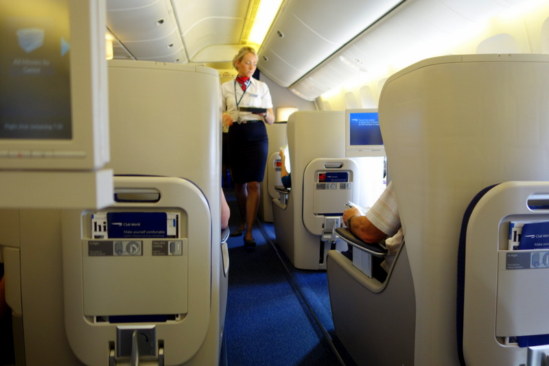 British Airways' In-Flight Service: Particular about safety