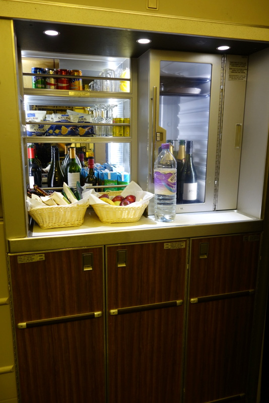 British Airways' Club Kitchen