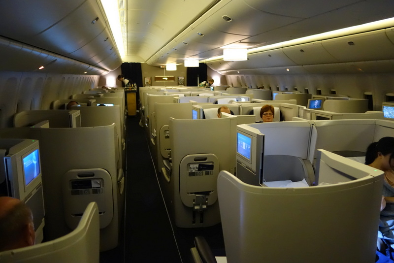 British Airways Club World (Business Class) Cabin Boeing 777-300