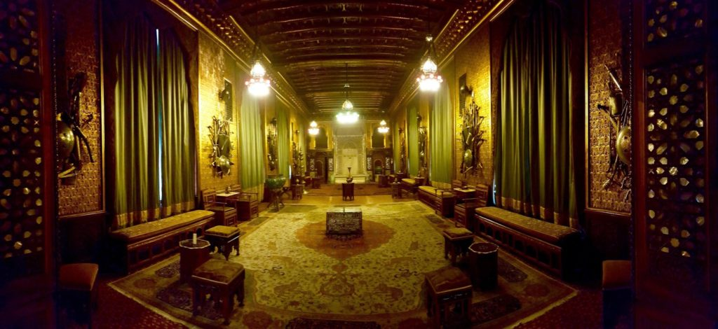 The Middle Eastern Room of Peles Castle