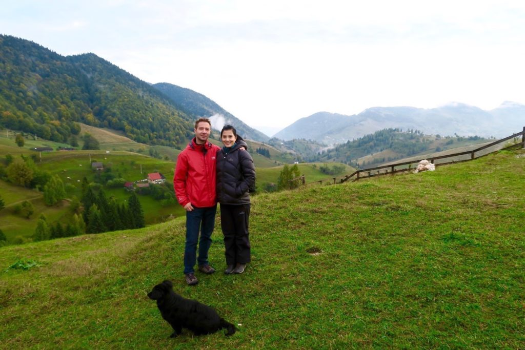 With Dan Chitila of Outdoor Activities in Romania