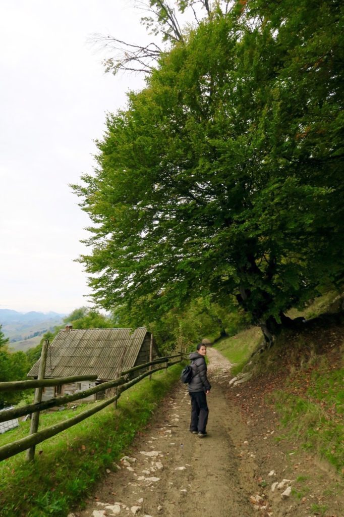 Exploring Pestera, Romania