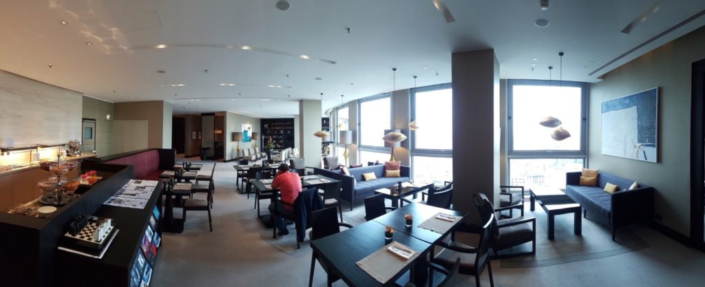 Club Lounge, Level 21, Intercontinental Bucharest