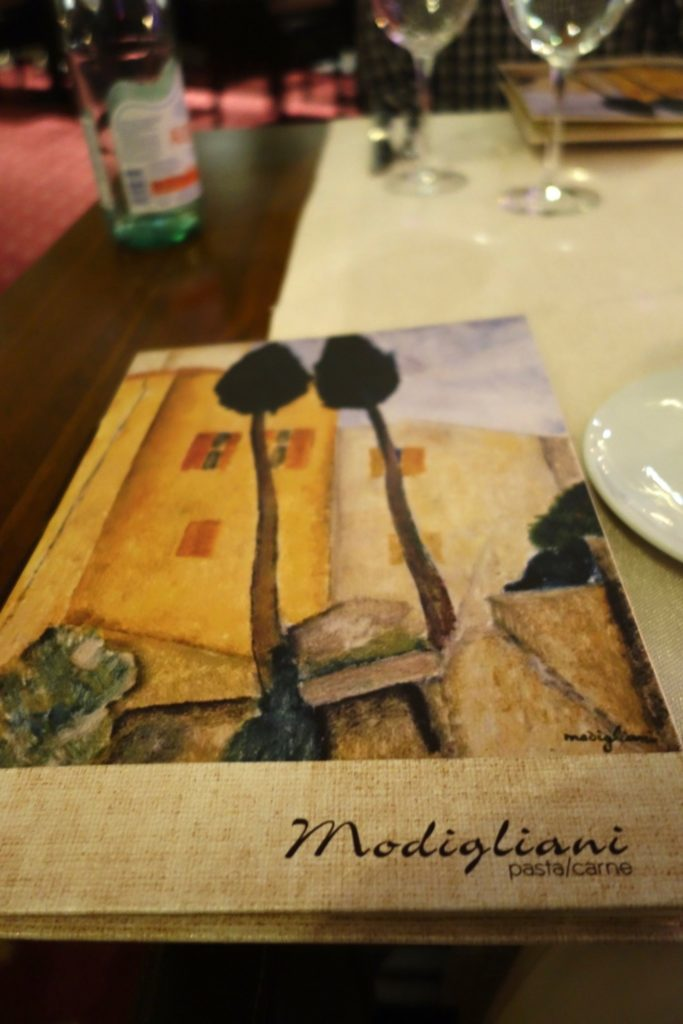 Modigliani Italian Restaurant, Intercontinental Bucharest