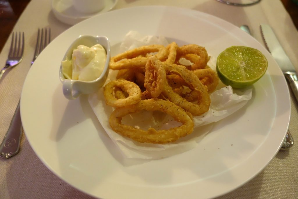 Calamari with Aioli