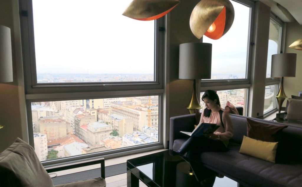 At the Intercontinental Bucharest
