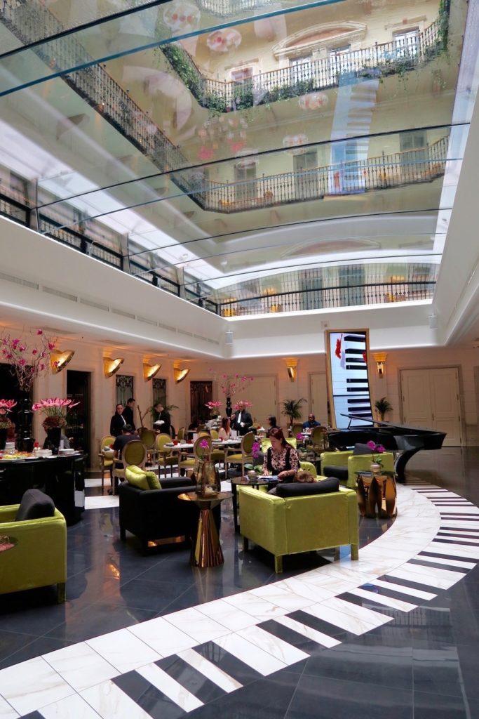 Breakfast area, Aria Hotel Budapest