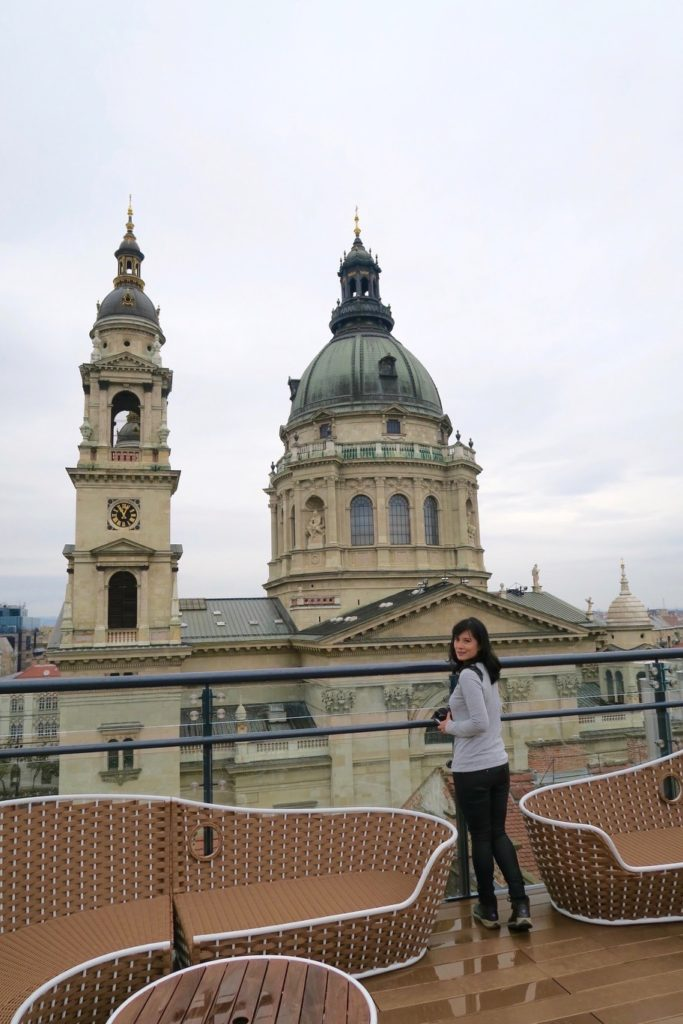 Rooftop of Aria Hotel Budapest