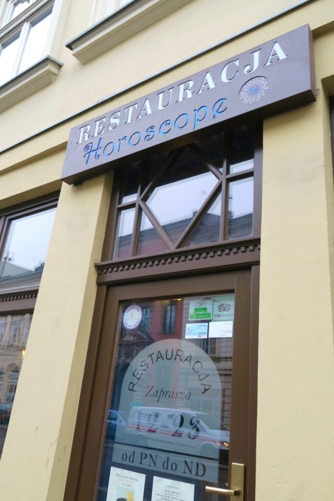 Restauracja Horoscope, Krakow Poland