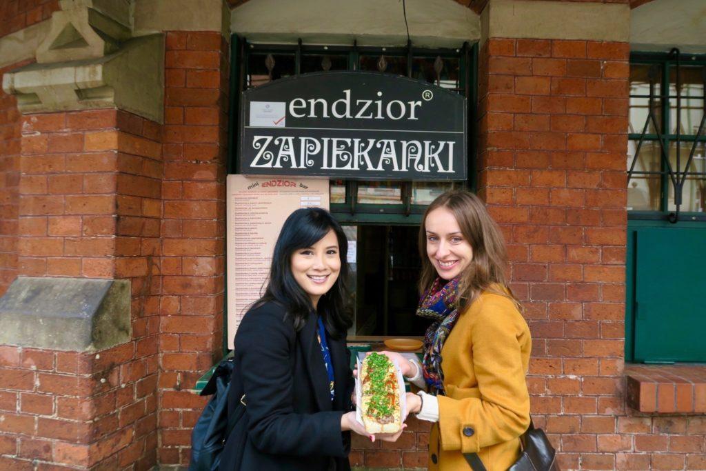 With Olga from JayWay Travel Krakow